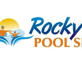 #22 for Design a Logo for www.rockyspoolsite.com.au af mukeshjadon