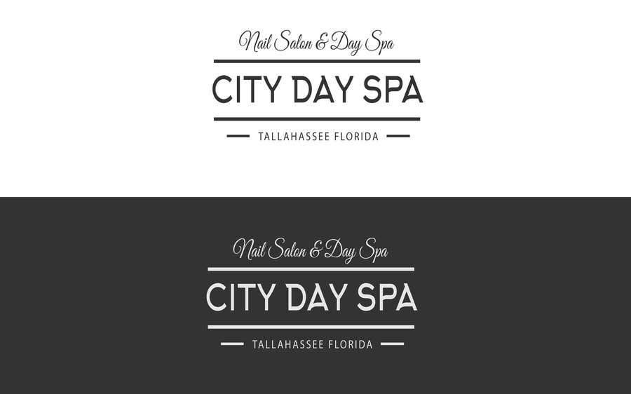 "Konkurrenceindlæg #15 for Create a badge style logo for ""City Day Spa"" using template file"