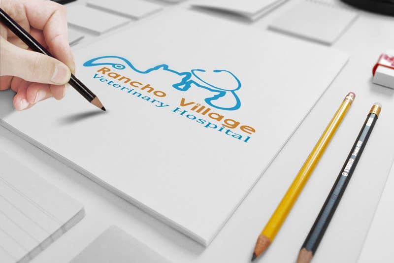 Konkurrenceindlæg #138 for Design a Logo for Rancho Village Veterinary Hospital