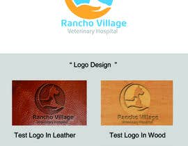 #119 cho Design a Logo for Rancho Village Veterinary Hospital bởi amrogoda4m