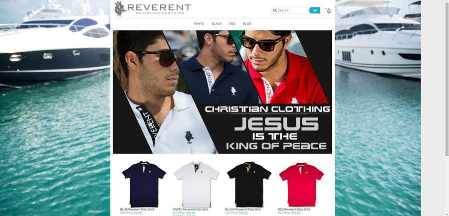 Bài tham dự cuộc thi #12 cho Design a Banner for www.reverent.us