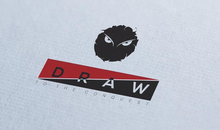 Kilpailutyö #28 kilpailussa Design a Logo for League of Legend team 'DRAW'