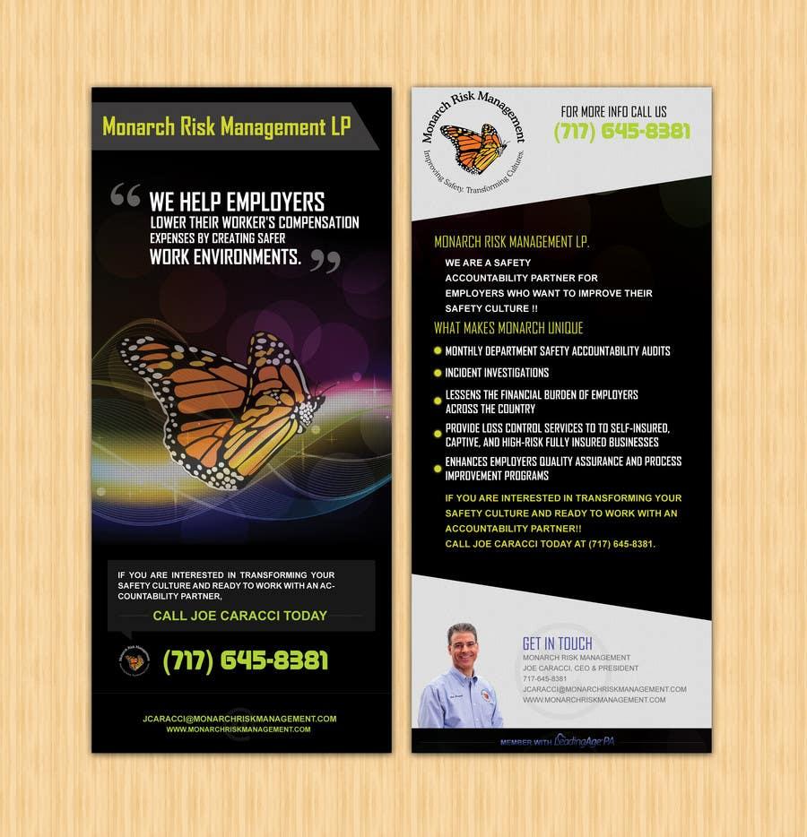 Inscrição nº                                         34                                      do Concurso para                                         Design a Brochure for Monarch Risk Management, LP