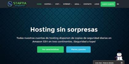 Nro 13 kilpailuun Design a Logo for Startia (Spain Telco Carrier) käyttäjältä gorantomic