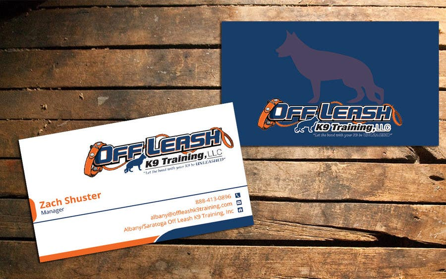 Entry #21 by nazmulhassan2321 for Dog Trainer Business Card | Freelancer