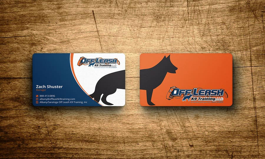 Entry 23 by nazmulhassan2321 for dog trainer business card freelancer contest entry 23 for dog trainer business card colourmoves