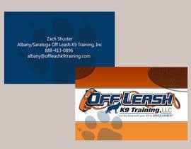 #6 cho Dog Trainer Business Card bởi bnewbug