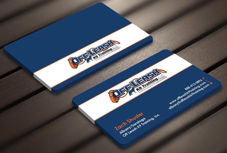 Entry #36 by Derard for Dog Trainer Business Card   Freelancer