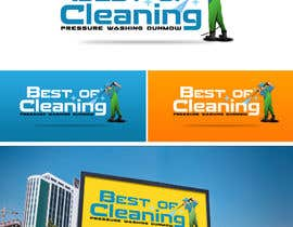 #59 para Design a Logo for a pressure washing bussines por davay