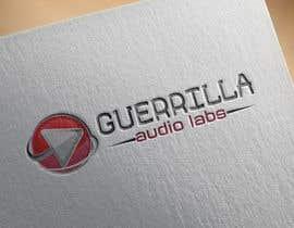 Nro 58 kilpailuun Design a Logo for Guerrilla Audio Labs käyttäjältä muhammadjunaid65