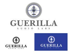 Nro 25 kilpailuun Design a Logo for Guerrilla Audio Labs käyttäjältä zaldslim