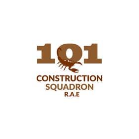 Nro 60 kilpailuun Design a Logo for 101 Construction Squadron käyttäjältä shanzaedesigns