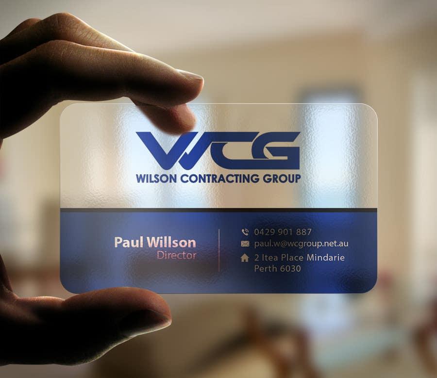 Kilpailutyö #78 kilpailussa Design some Business Cards for WCG