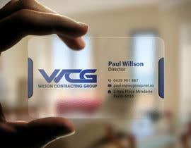 #79 for Design some Business Cards for WCG by imtiazmahmud80