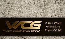 Graphic Design-kilpailutyö nro 105 kilpailussa Design some Business Cards for WCG