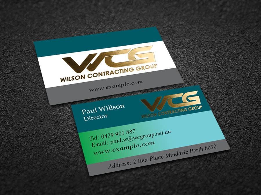 Kilpailutyö #15 kilpailussa Design some Business Cards for WCG