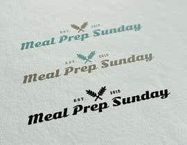 Nro 65 kilpailuun Design a Logo for 'Meal Prep Sunday' käyttäjältä DesignDock