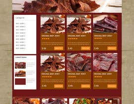 #32 for Build a Website template for Outback Jerky af Ganeshdas
