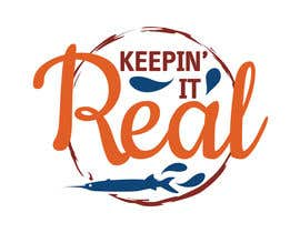 "#104 untuk Design a Logo for ""Keepin' it Real"" oleh IuliaCrtg"