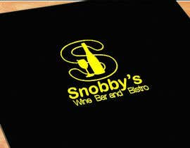 #77 untuk Design a Logo for Snobby's Wine Bar and Bistro oleh topprofessional