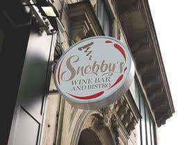 #65 untuk Design a Logo for Snobby's Wine Bar and Bistro oleh vladspataroiu