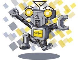 #11 for Ilustrar un robot amable af soapaints