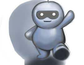 #16 for Ilustrar un robot amable af soapaints