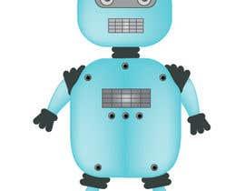 #14 for Ilustrar un robot amable af Letigallo