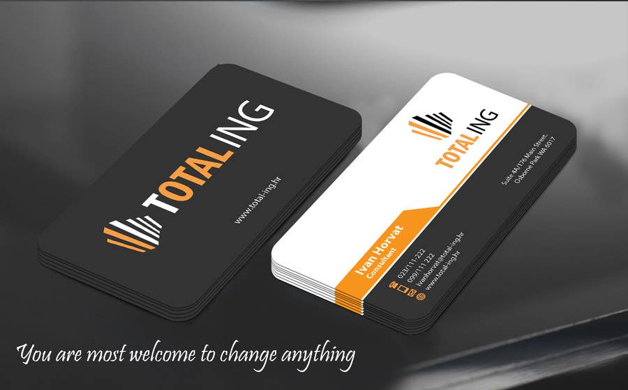 Entry 118 By Mamun313 For Design Business Card For Construction