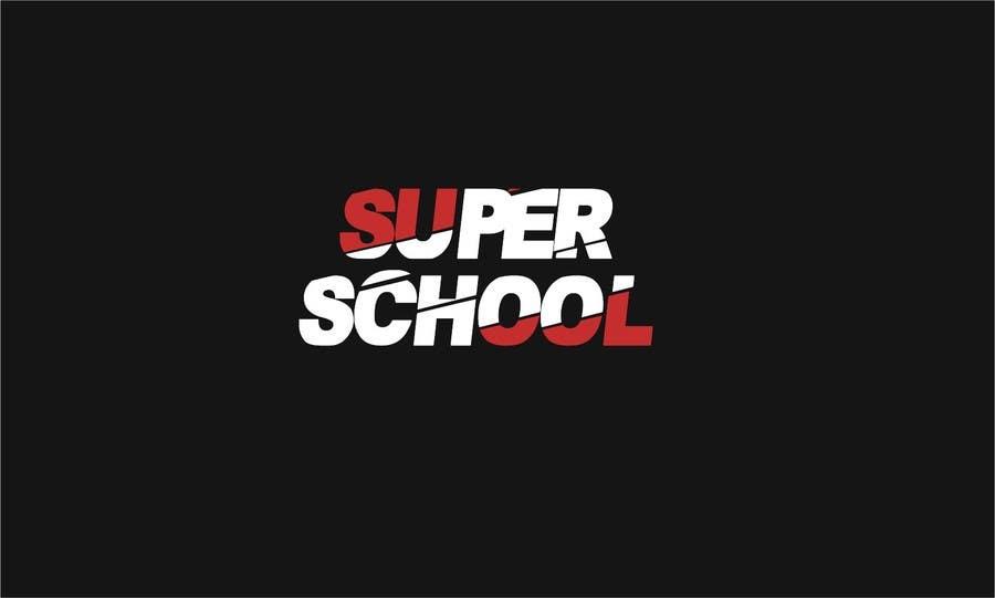 Kilpailutyö #34 kilpailussa Design a Logo for superschool