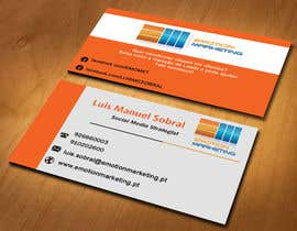 #15 untuk Design a vertical (two sides)Business Card + horizontal Business Card (two sides) for Emotion Marketing oleh sanratul001