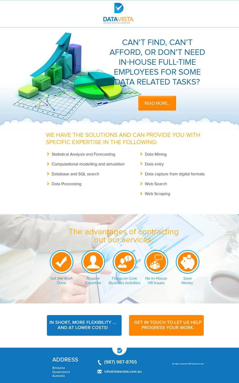 Konkurrenceindlæg #24 for One page responsive website