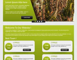 #2 para Design a Website Mockup for RusoTuristo.com por gravitygraphics7