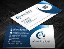 #25 para Design some Business Cards for iConz Pte Ltd por creationz2011