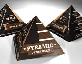 #1 cho Create Print and Packaging Design for Pyramid Shaped Box - [Software Packaging] bởi peshan