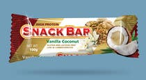 Graphic Design Kilpailutyö #44 kilpailuun Create Print and Packaging Designs for Snack Bar
