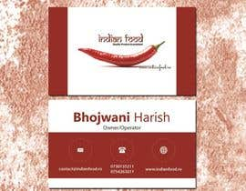 #30 for Design some Business Cards for www.indianfood.ro by aadizahid