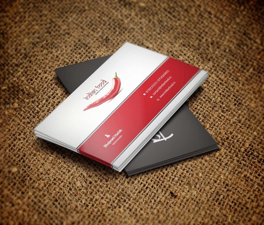 Kilpailutyö #13 kilpailussa Design some Business Cards for www.indianfood.ro