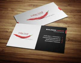 #27 for Design some Business Cards for www.indianfood.ro by mehedi30