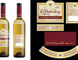 #36 para Create a label design for white, rose and red wine por SouthArtel