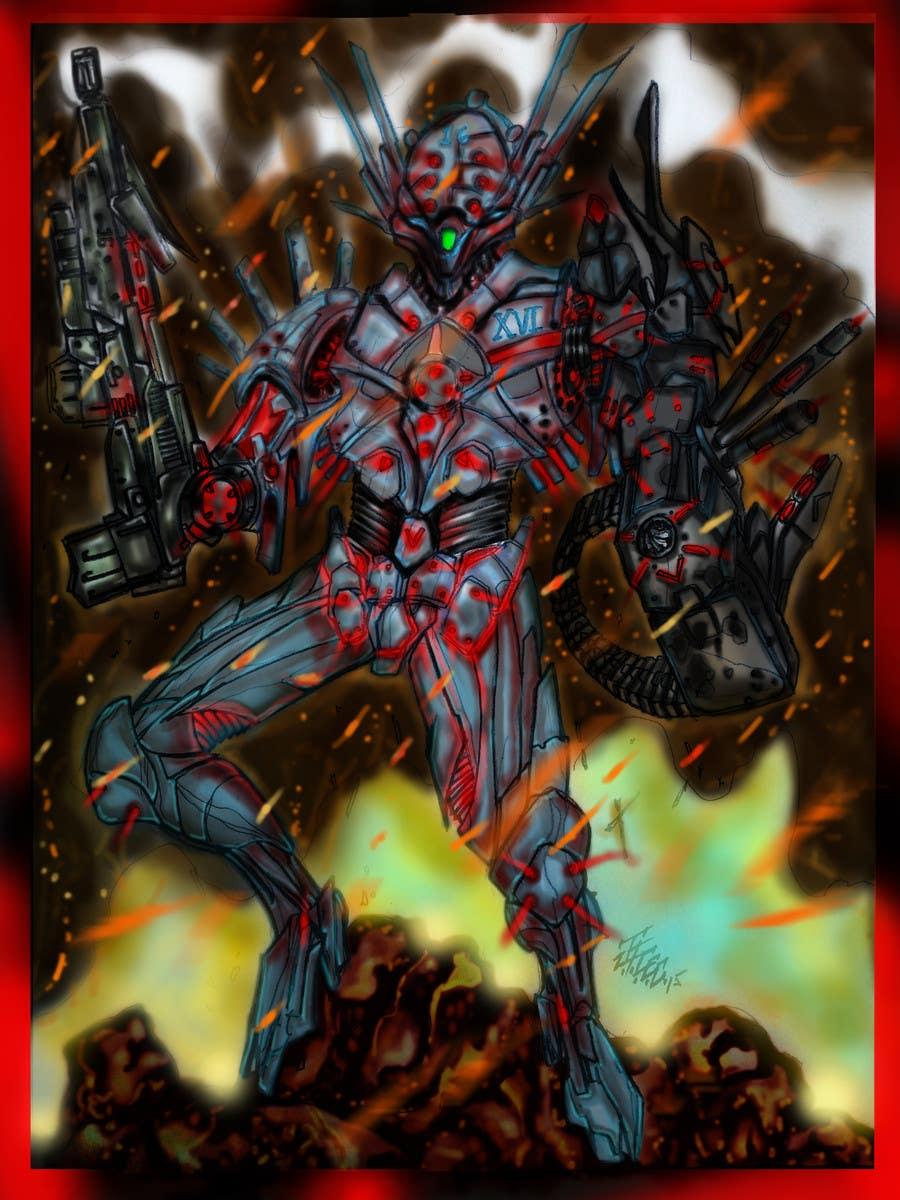 Kilpailutyö #30 kilpailussa Design 1 Sci-Fi Character Art