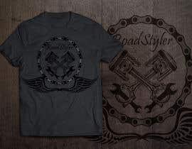 #22 untuk Design T-shirt for motorcycle company oleh HomelessChicken