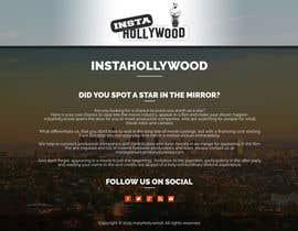 Nro 9 kilpailuun Design a 1 page website with movie theme in Wordpress käyttäjältä doubledude