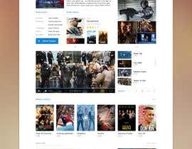 #1 for Design a 1 page website with movie theme in Wordpress af sriram143341