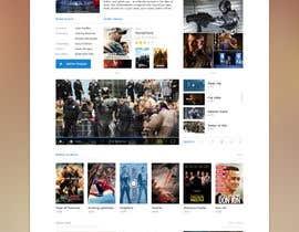 Nro 1 kilpailuun Design a 1 page website with movie theme in Wordpress käyttäjältä sriram143341