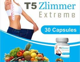 creazinedesign tarafından design a label for some diet pills called T5 Zlimmer için no 13