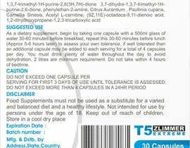 creazinedesign tarafından design a label for some diet pills called T5 Zlimmer için no 18