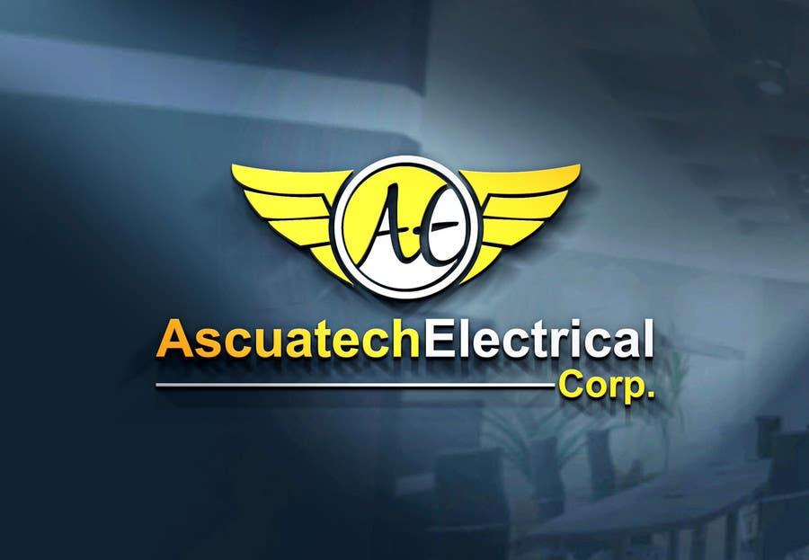 Kilpailutyö #24 kilpailussa Diseñar un logotipo  Ascuatech Electrical Corp.