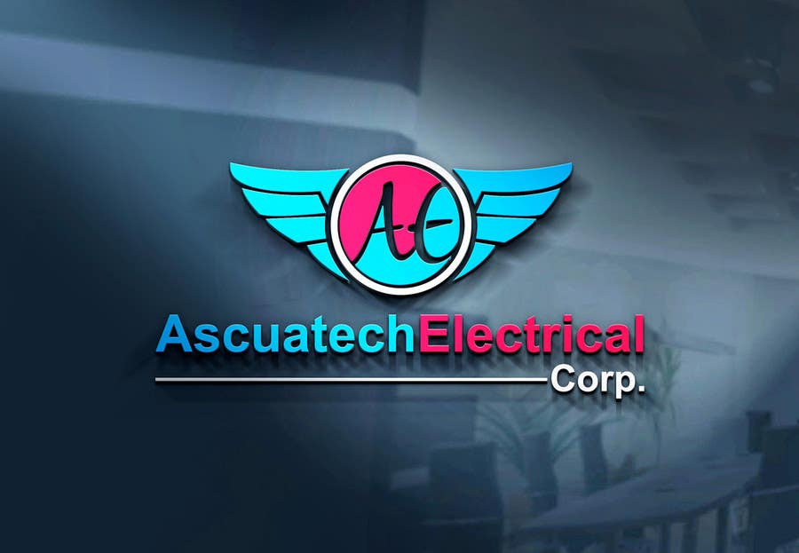 Kilpailutyö #25 kilpailussa Diseñar un logotipo  Ascuatech Electrical Corp.