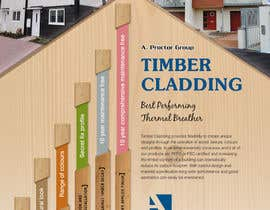nº 36 pour Design an Advertisement for Timber Cladding par jj0357